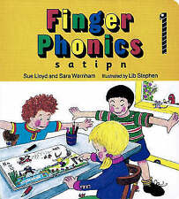 Good, Finger Phonics: Book 1: In Precursive Letters (BE): S, A, T, I, P, N (Joll