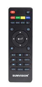 Official Remote Control for Sumvision Cyclone Micro 4 Media Player