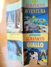 MISTER NO - ALMANACCO DELL ' AVVENTURA 1995 + NICK RAIDER- ALMANACCO GIALLO 1993