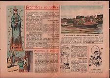Liège Luik Fête-Dieu Saint Sacrement La Meuse Belgique Belgium 1946 ILLUSTRATION
