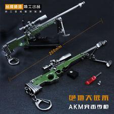 1/6 PUBG Magnum L96A1 L115A1 AWP AWM Sniper gun BattleField4 Battleground metal