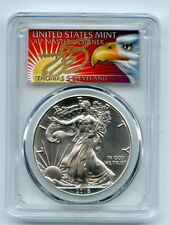 2016 (P) $1 American Silver Eagle 1oz PCGS MS70 Thomas Cleveland Eagle