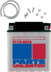 Parts Unlimited 12V Heavy Duty Battery YB30CL-B