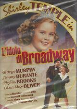 Dvd **L' IDOLO DI BROADWAY** con Shirley Temple nuovo 1938