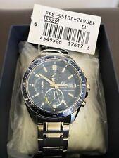 Casio Edifice Men's *EFS-S510D-2AVUEF* Solar Powered Sapphire Chronograph Watch