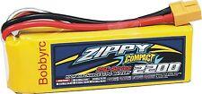 New Zippy Compact 2200mAh 3S 11.1V 25C 35C Lipo Battery Pack RC XT60 XT-60 USA