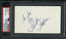 """Heather Locklear Actress Melrose Place Signed 3"""" x 5"""" Index Card  PSA/DNA"""