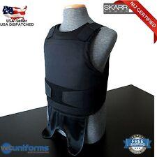 NEW Skarr Armor NIJ CERTIFIED Kevlar Bulletproof Body Armor Vest Black LRG