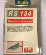 ELSE KIT RS 134 RIVELATORE DI METALLI METAL DETECTOR KIT DIDATTICO ELETTRONICO