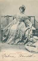 Maria Legault French Actress Role of Marie-Louise in L'Aignon 1902 Postcard -udb