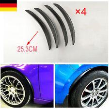 4-tlg. 25 cm Radlauf Verbreiterung Kotflügel Schmutzfänger Universal