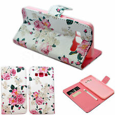 PU Leather Phone Stand Wallet Fold Pouch Cover Case For Samsung Galaxy A3 2015
