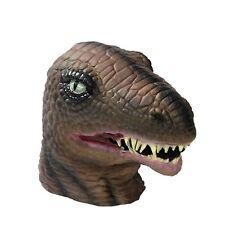 Dinosaur Deluxe Latex Mask, Halloween Animal Accessory