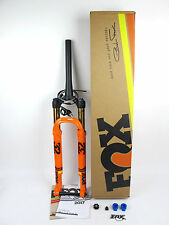 2017 NEW FOX Factory Step Cast Fork REMOTE 27.5 100 15x110 Kabolt Taper Orange