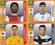 Panini Euro EM Tournament Edition Update Set Sticker Lazaro | Stones | Lam