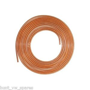 COPPER BRAKE FUEL PIPE HOSE LINE 25FT FEET 1/4 1 ROLL