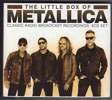 Metallica - Little Box Of Metallica 4CD box set