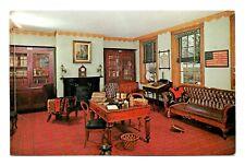 Wheatland Lancaster Pennsylvania Postcard Restored Home James Buchanan Vintage