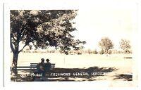 RPPC Golf Course, Fitzsimons General Hospital, Denver CO Real Photo Postcard 5Z5