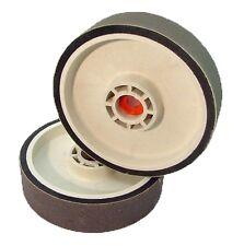 "BUTW 8"" x 2"" x 1200 grit diamond soft flex lapidary grinding wheel for 8"" drum R"