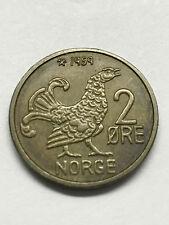 1959 Norway 2 Ore Xf+ #7261