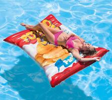 Intex 58776 XXL Chipstüte Luftmatratze Schwimmliege Wasserliege 178 x 140 cm