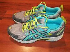 ASICS Gel Venture 5 T5N8N Womens Trail Running Training Shoes Gray Teal Size 9