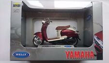 WELLY '99 YAMAHA VINO YJ50R 1:18 DIE CAST NEW LICENSED MOTORCYCLE