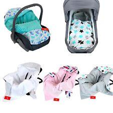 BabyLux Baby EINSCHLAGDECKE Babyschale Autositz Kindersitz Decke Kinderwagen