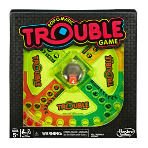 Trouble Neon Pop Board Game Pop-o-matic Special Edition