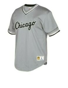 Mitchell & Ness Chicago White Sox Baseball Jersey New Mens Sizes MSRP $90