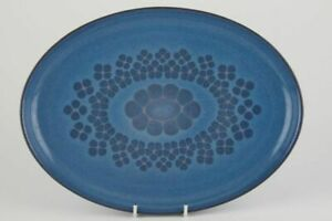 Denby - Midnight - Oval Plate / Platter - 60510Y
