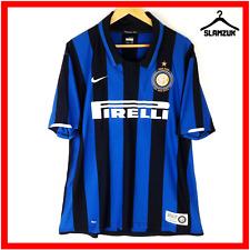 Nike Inter Milan Football Shirt XL Centenary Soccer Jersey Home 100 Anni FitDry