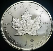 2020 1 oz Canadian Silver Maple Leaf Coin 1 Troy Ounce of 9999 Fine Silver BU