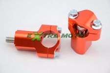 Riser supporti manubrio RIALZATI ergal CNC KTM SX SXF EXC EXCF F spessori rialzi