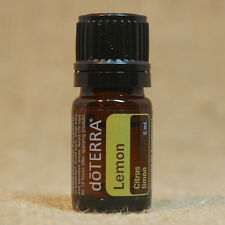 doTERRA LEMON 5 mL Essential Oil NEW Unopened SHIPS in 24 hrs Aids RESPIRATION