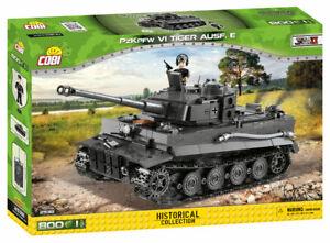 Cobi-2538 - Pz.Kpfw. VI Tiger 1 Tank (800 pcs)  - Building Blocks - (WWII)