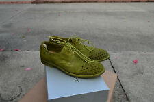 Officine creative women's laced pistachio shoes size 7 guidi rundholz marsell