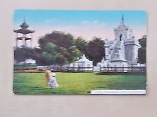 VINTAGE POSTCARD - SHRINE OF GAUDAMAS TOOTH - MANDALAY - BURMA - MYANMAR