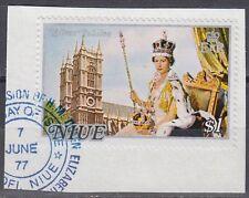 Niue 1977 Θ Mi.171 Regentschaft Silver Jubilee Queen Elizabeth [sq7106]