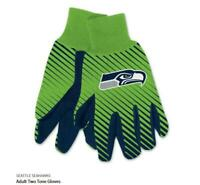 Seattle Seahawks Logo Handschuhe Utility Gloves NFL Football NEU !