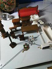 dollhouse miniatures lot