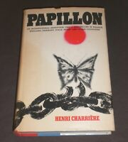 Papillon by Henri Charriere HCDJ First 1st US Edition Morrow 1970 Hardcover