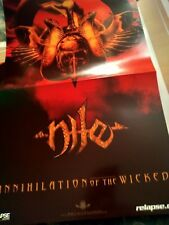 Nile * Rare Promotional Poster *