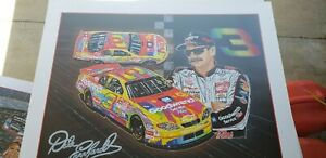 """SAM BASS PRINT """"MAX'D OUT"""" 2000 PETER MAXX DALE EARNHARDT 26 1/2' X 32' AMAZING"""