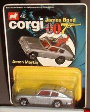 CORGI JUNIOR 007 JAMES BOND 40 ASTON MARTIN M/B