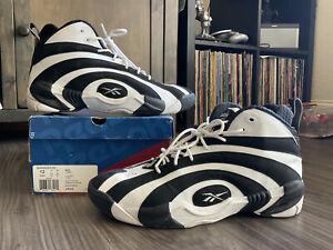 Size 12 - Reebok Shaqnosis OG Retro Black White 2020