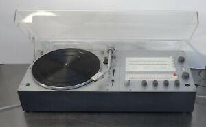 Braun Audio 310 Stereo Receiver Turntable Plattenspieler Rams  Design 1970er