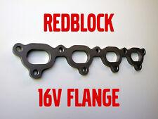 Volvo 16V turbo B234F B204FT AQ171 Redblock mild steel exhaust manifold flange