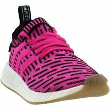 adidas Nmd_R2 Primeknit Lace Up  Mens  Sneakers Shoes Casual   - Pink